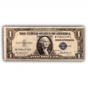 1 доллар 1935 год F.Вашингтон.Банкнота США.