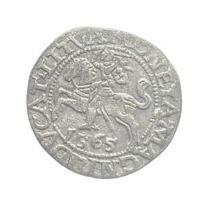 1/2 гроша 1565 год.Польско-Литовское содружество.Серебро.
