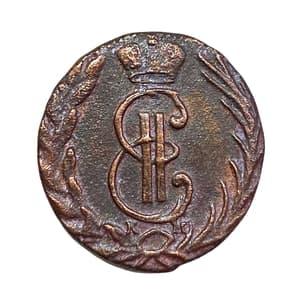 Деньга 1771 год КМ.Екатерина II.Сибирь.Медь.