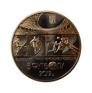 5 гривен 2011 год.Финальный Турнир Чемпионата Европы по футболу 2012.Украина.