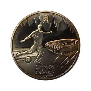 5 гривен 2011 год.Львов.Финальный Турнир Чемпионата Европы по футболу 2012.Украина.