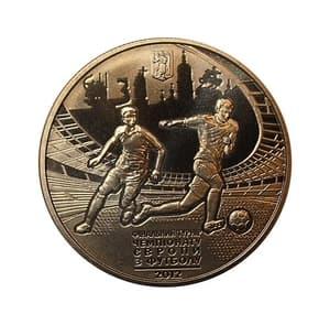 5 гривен 2011 год.Киев.Финальный Турнир Чемпионата Европы по футболу 2012.Украина.