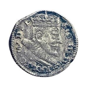 3 гроша 1591 год.Сигизмунд III.Польско-Литовское содружество.Серебро.