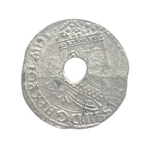 1 грош 15.. год.Сигизмунд III.Польско-Литовское содружество.Серебро.