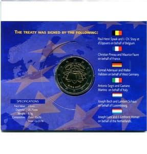 2 евро 2007 год «Римский договор».Португалия